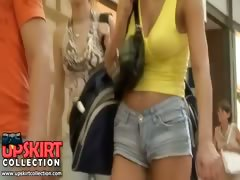 This is the video that features a sexy girl in jeans shorts