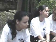 Sexy Latina Teens Hardcore Banging