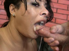 Ava gets her mouth stuffed with his fingers till she gags