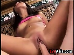 Dirty Asian Girl Fucked Up The Ass
