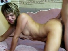 Nice beauteous chick gets fucked hard